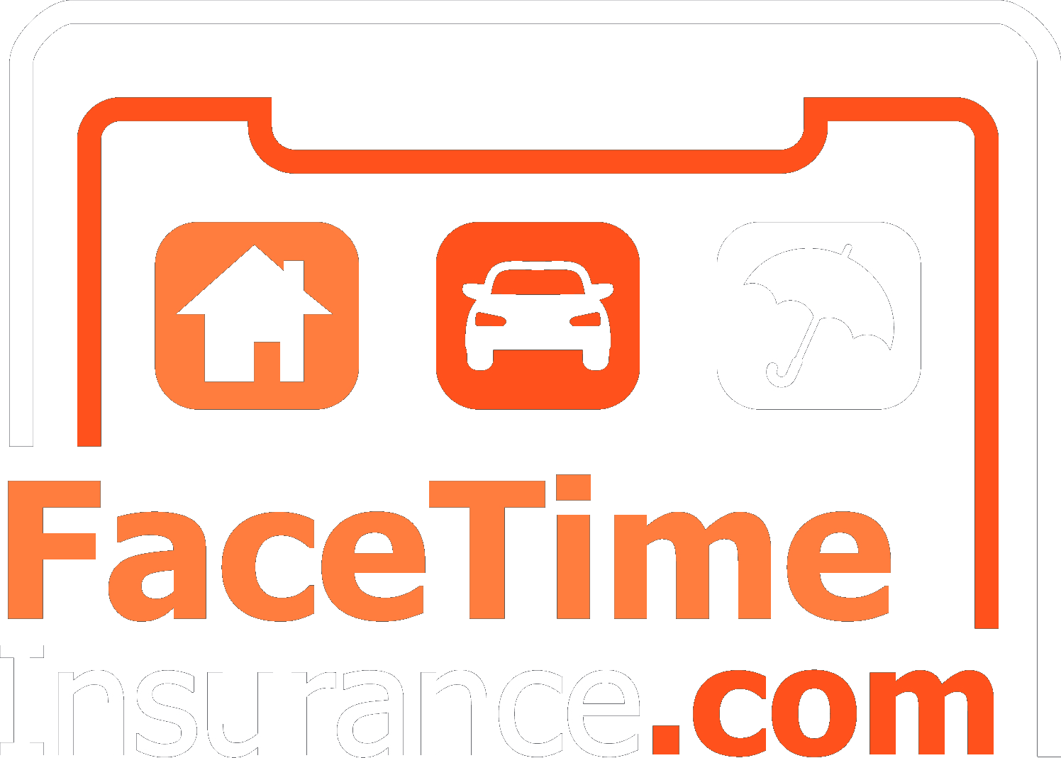 Facetime Insurance – Insurance Connection Agency Logo